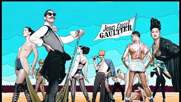 See the evolution of Gaultier's public image