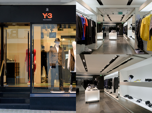 Last night I was in Conduit Y 3 Opens Flagship Store At Conduit Street In London